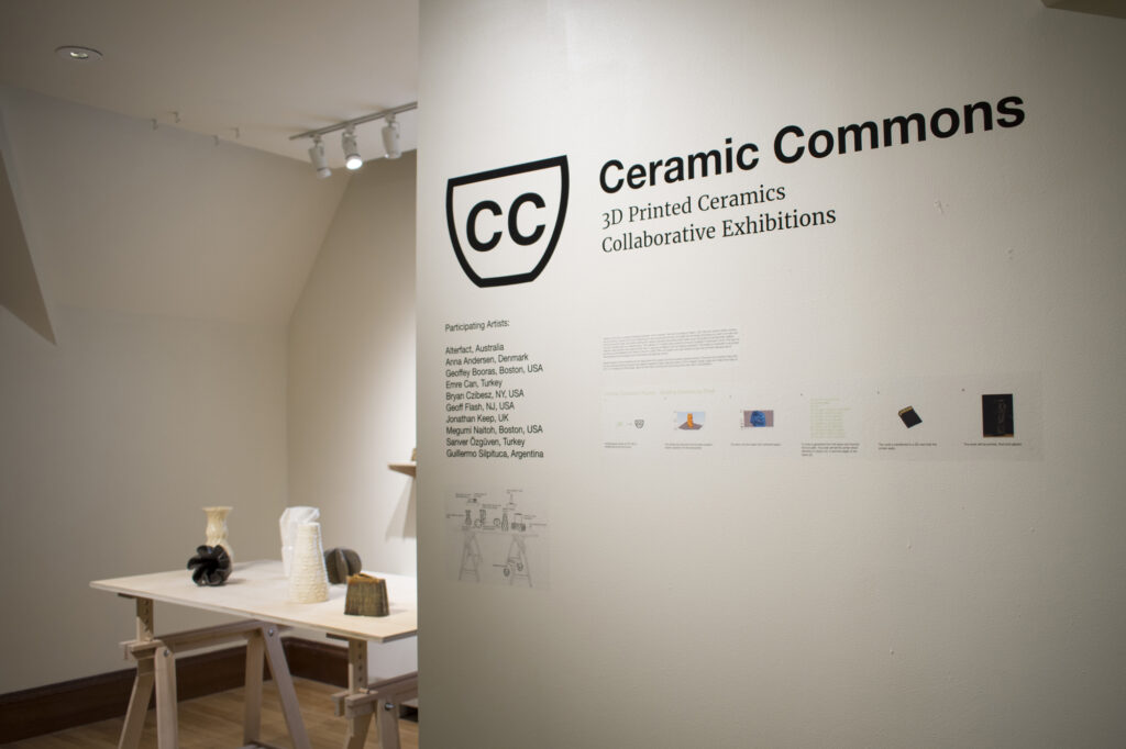 D Printer Exhibition Usa : Ceramic commons u d printed ceramics collaborative exhibition